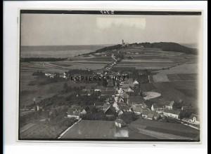ZZ-5444/ Offingen m. Bussen seltenes Foto Luftbild 18 x 13 cm ca.1938
