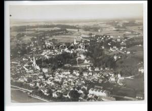 ZZ-5443/ Bad Tölz seltenes Foto Luftbild 18 x 13 cm 1935