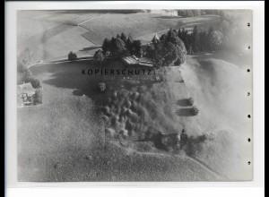 ZZ-5442/ Bad Tölz Restaurant Kogel seltenes Foto Luftbild 18 x 13 cm ca.1938