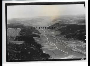 ZZ-5436/ Hausen Murrhardt seltenes Foto Luftbild 18 x 13 cm 1934