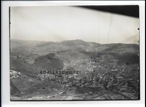 ZZ-5435/ Achkarren bei Breisach seltenes Foto Luftbild 18 x 13 cm ca.1938