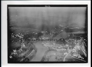 ZZ-5433/ Laufenburg seltenes Foto Luftbild 18 x 13 cm ca.1938