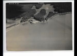 ZZ-5431/ Summt Mühlenbecker Land seltenes Foto Luftbild 18 x 13 cm 1939