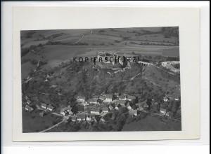 ZZ-5453/ Hohenrechberg B. Schw. Gmünd seltenes Foto Luftbild 16 x 11 cm 1934