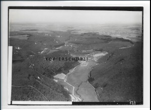 ZZ-5428/ Eybach b. Geisslingen seltenes Foto Luftbild 18 x 13 cm ca.1938