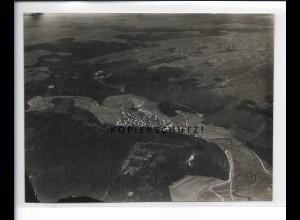 ZZ-5466/ Mägerkingen b. Trochtelfingen seltenes Foto Luftbild 15x11,5 cm ca.1935