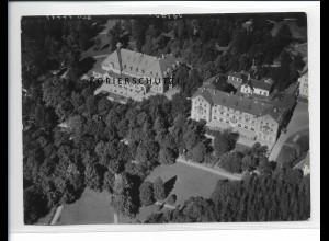 ZZ-5429/ Bad Steben seltenes Foto Luftbild 18 x 13 cm 1939