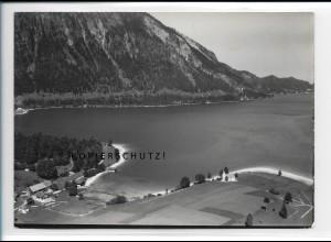 ZZ-5423/ Zwergen am Walchensee seltenes Foto Luftbild 18 x 13 cm 1936