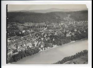 ZZ-5422/ Waldshut-Tiengen seltenes Foto Luftbild 18 x 13 cm ca.1938