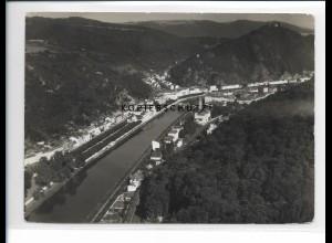 ZZ-5421/ Bad Ems seltenes Foto Luftbild 18 x 13 cm 1937