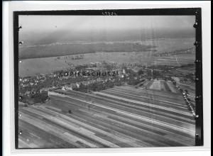 ZZ-5419/ Minfeld seltenes Foto Luftbild 18 x 13 cm ca.1938
