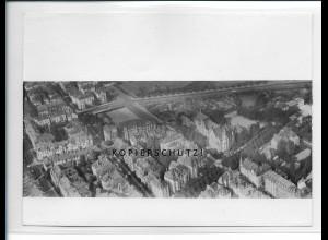 ZZ-5418/ Frankfurt M. seltenes Foto Luftbild 18 x 13 cm 1939