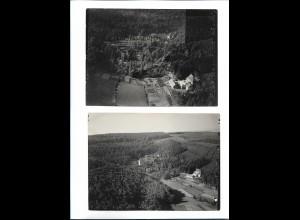 ZZ-5417/ 2 x Sandbach Ernst-Ludwig Heilstätte Foto Luftbild 18 x 13 cm 1936