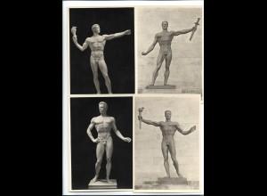 XX14886/ 3 x alte AK Arno Breker Skulpturen ca.1935