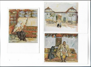 XX14884/ 3 x alte AK VDA Aus einem siebenbürgischen Dorf Rumänien
