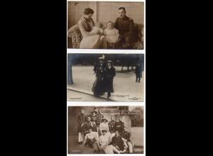 W8Y39/ 9 x AK Adel Preußen ca.1908-16