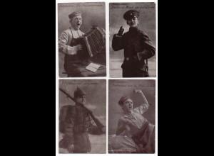 W8Y36/ 6er Serie Soldatenleben Militär 1. Weltkrieg 1917