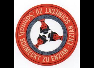 W9E36/ Enzian-Schmatz A. Riemerschmid, München Werbung ca.1935
