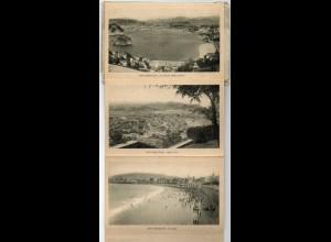W9H51/ San Sebastian 15 x AK Ansichtskarten Leporello ca.1925 Spanien