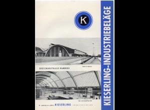 c963/ Kieserling-Industriebeläge Großmarkthalle Hamburg Werbung Faltblatt