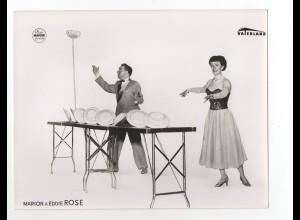 c1045/ Variete Marion & Eddi Rose Jongleur Foto Mahler Hamburg Vaterland ca.1955