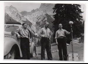 X1G94/ UFA Filmteam ca.1935 Original Foto