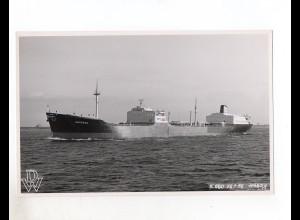 c1245/ Frachter Handelsschiff Tanker Arizona Foto 1956 23 x 14,5 cm