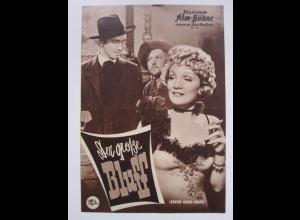 FP139/ IFB Nr. 30 Ger große Bluff Marlene Dietrich Western Filmprogramm