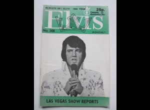C1984/ Elvis Presley Monthly No. 208 1977 UK-Magazin