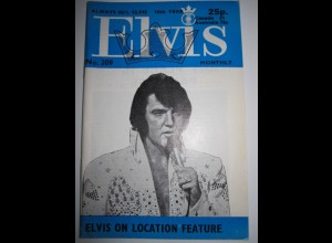 C1983/ Elvis Presley Monthly No. 209 1977 UK-Magazin