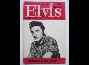 C1981/ Elvis Presley Monthly No. 211 1977 UK-Magazin