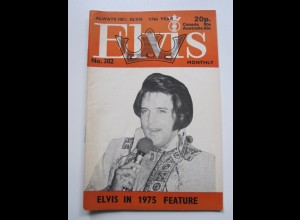 C1974/ Elvis Presley Monthly No. 202 1976 UK-Magazin