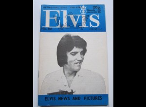 C1973/ Elvis Presley Monthly No. 201 1976 UK-Magazin