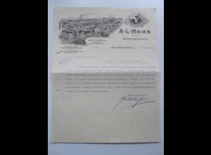 C3994/ Rechnung A. L. Mohr Margarinefabrik Hamburg Bahrenfeld 1914