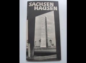 C3998/ Sachsenhausen KZ 30 Seiten ca.1960-65