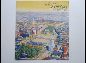 C4432/ Mein Leipzig lob ich mir 10 Seiten Bildband ca.1935