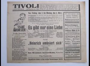 C4439/ TIVOLI Lichtspielhaus Kino Hamburg Hamm Eiffestr. Programm 2.3.- 8.3.1934