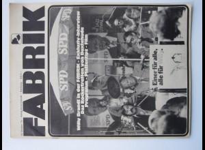 C4448/ FABRIK Hamburg Heft 13.10.1976 u.a. Rocker Satansadler, Buxtehude