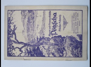 C4444/ Kurort Pötzscha Sächs. Schweiz Heft 20 Seiten ca.1925