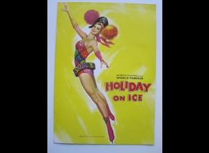 C4466/ Holiday on Ice 1965 Eis-Revue Eislaufen Heft 16 seitzen
