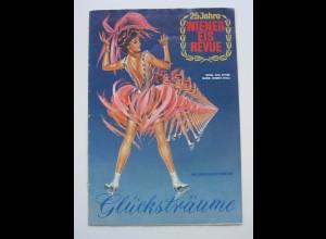 C4465/ 25 Jahre Wiener Eis-Revue 1964 Eislaufen Heft 28 Seiten,viele Abbildungen