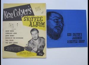 C4462/ Ken Colyers Musiker Jazz Skiffle Notenheft, Prospekt 1957/1966