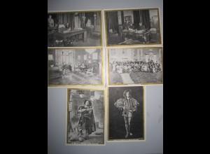 W7N29/ 11 Sammelbilder Kaufmannsbilder Mon Barbeau - Boulogne-sur-Seine ca.1910
