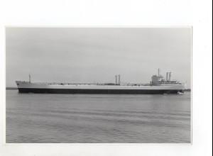 C1360/ Handelsschiff Tanker Altanin auf der Elbe Foto ca.1965 22,5 x 14 cm