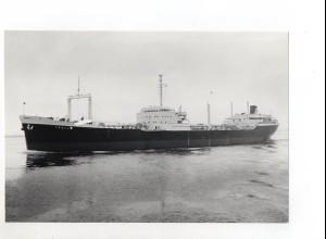 C1368/ Handelsschiff Tanker Troll Foto ca.1965 22 x 15 cm