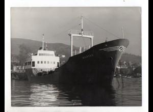 C1561/ Tanker Manyas auf See Foto ca. 1965 24 x 18 cm