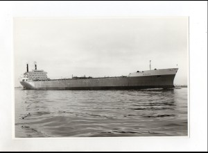 C1569/ Tanker Drupa auf hoher See Foto ca. 1965 22 x 15,5 cm
