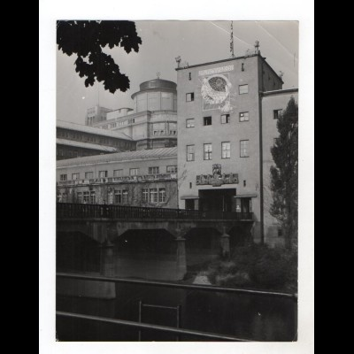 F5755/ München Deutsches Museum Foto ca.1955 24 x 18 cm