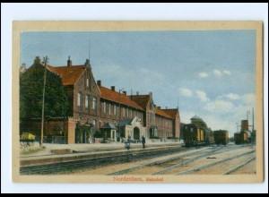 XX14929/ Nordenham Bahnhof AK 1914