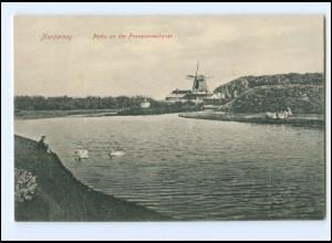 XX15054/ Norderney Franzosenschanze Windmühle AK ca.1910